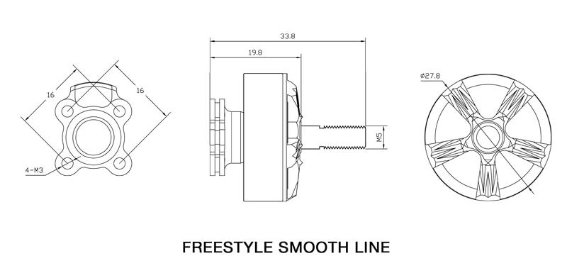 xnova freestyle smooth line